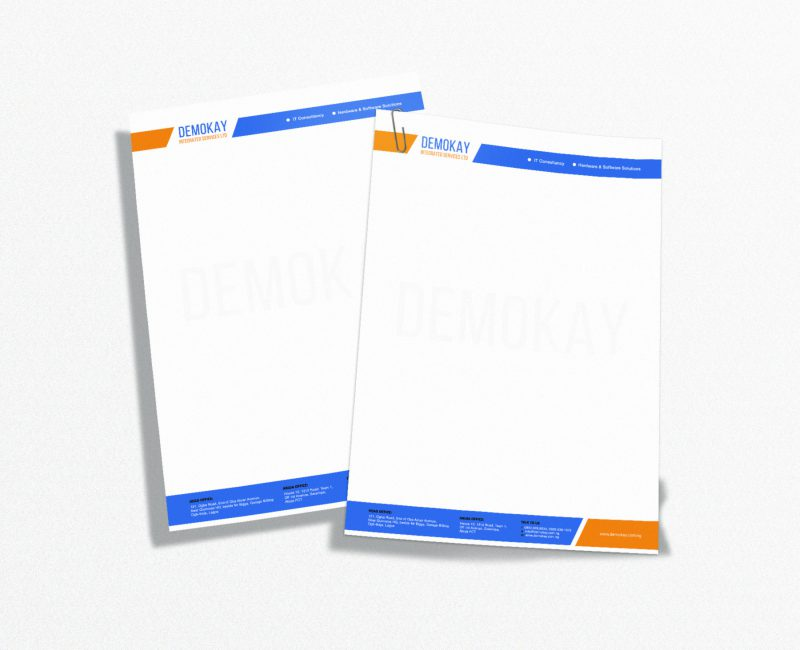 Demokay Ltd – Letterhead